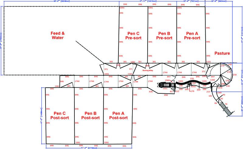 Corral Design Cattle Working Pen Panels