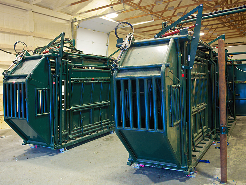 Hi Hog Bison Handling Equipment