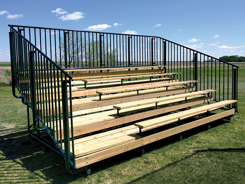 Hi Hog Bleacher Seating