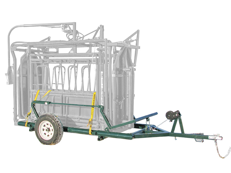 Hi Hog Cattle Squeeze Chute Trailer