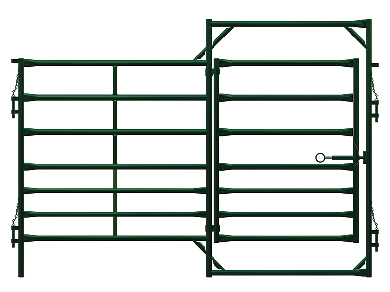Hi Hog Livestock Panels with Man Gates