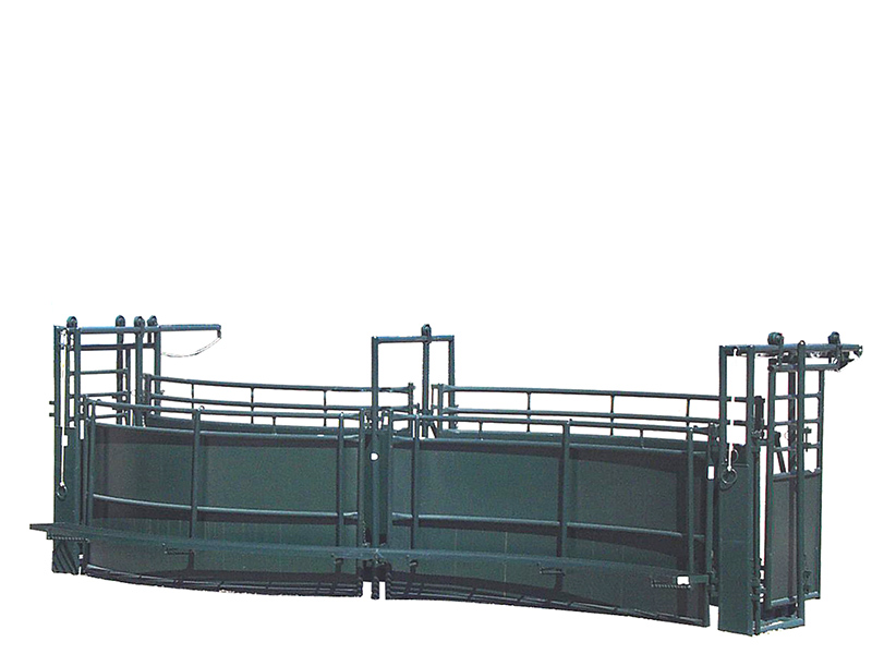 Hi Hog S Alley cattle handling system
